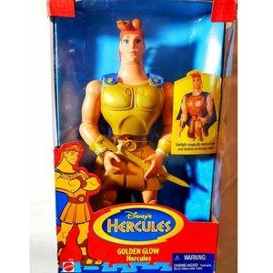 Hercules 1996 Mattel Golden Glow Disney Figure